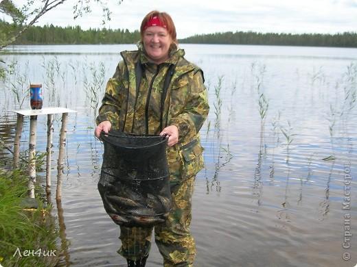 Решили мы отдохнуть на карельских озерах. Рыбки половить. Пожить в почти диких местах. Дорога встретила нас неласково и ничего хорошего не предвещала. фото 21