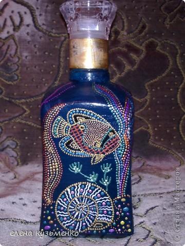 вот такая детская бутылочка из-под серьезного напитка у меня вышла.  фото 4