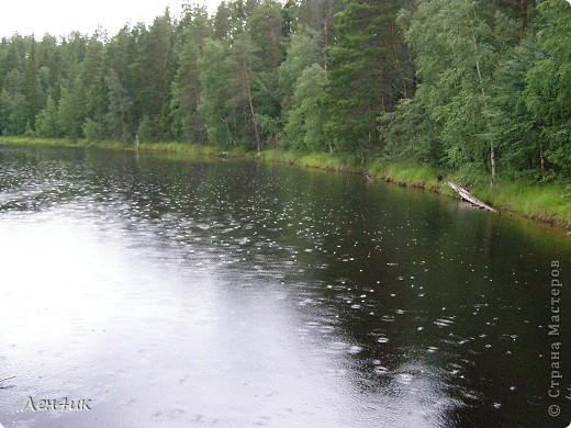 Решили мы отдохнуть на карельских озерах. Рыбки половить. Пожить в почти диких местах. Дорога встретила нас неласково и ничего хорошего не предвещала. фото 2