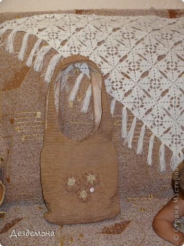 Вот такая сумка получилась у меня по мастер-классу Голубки http://stranamasterov.ru/node/78633?c=favorite_451 фото 4
