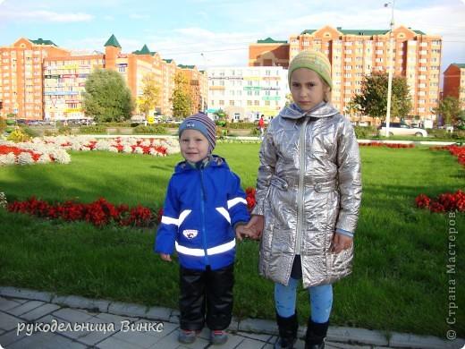 плащик дочке, курточка- сыночку фото 1