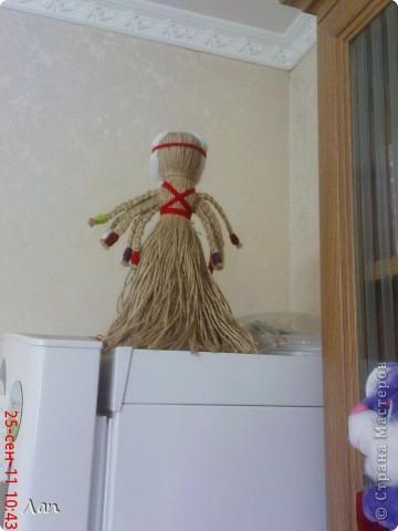 Кукла из ниток фото 8