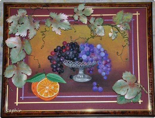 Вот и мой виноград созрел. фото 1