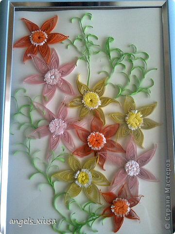квиллинг цветочки