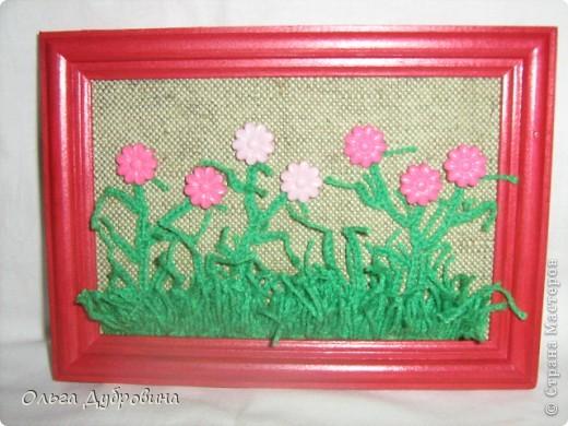 Знакомьтесь, это голубой цветок. Фон - двойной (шифон и плотная ткань такого же цвета). фото 4