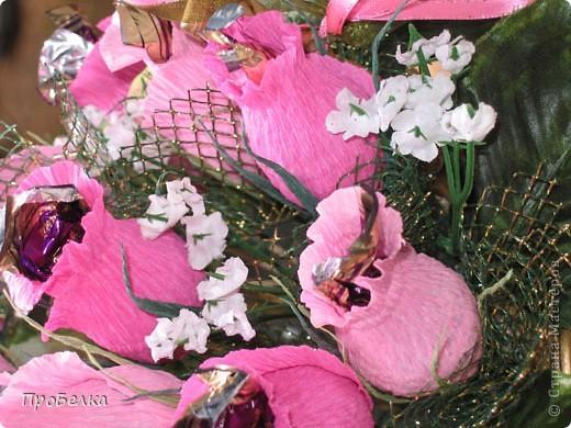 На 37-летнюю годовщину свадьбы сделала заказ в виде корзины с 37 бутонами роз. фото 4