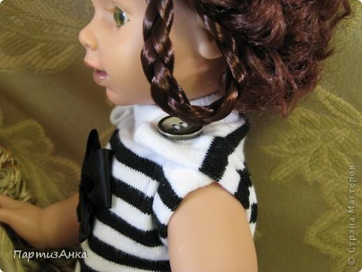 """Привет, Страна! Знакомая-логопед слёзно просила привести в порядок """"рабочую"""" куклу. Ну, не могу же я отказать?... Когда она мне её принесла, я поняла, что экипировать придётся по полной. Вот такой она ко мне попала. фото 13"""