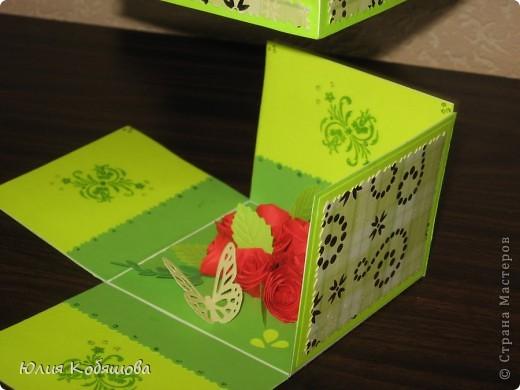 Вот такая коробочка с сюрпризом и открыточка получились у меня в подарок ко дню учителя. Набор для учительницы игры на флейте, к которой моя Дашенька ходит на уроки. фото 4