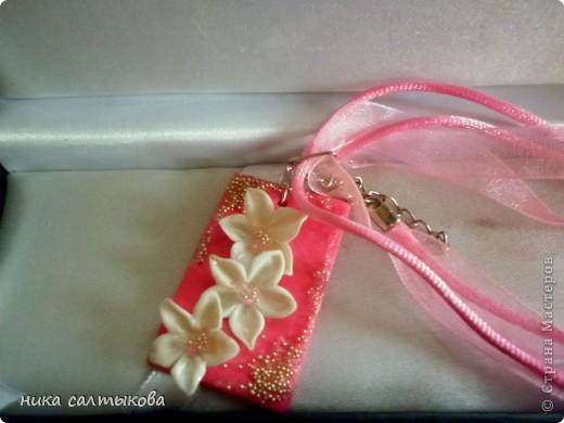 После того, как я подарила серьги приятельнице, она заказала к ним браслет, его она еще  не видела. Право первым увидеть всегда выпадает Стране Мастеров!!!))) фото 3