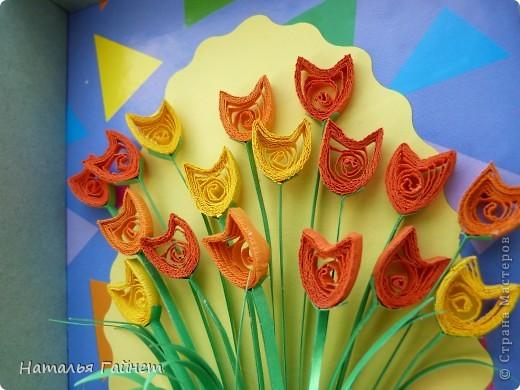 Во вторник отмечается День воспитателя.Для садиков моих дочек мы приготовили вот такие подарки в виде открыток-коробочек с букетиками цветов. фото 11