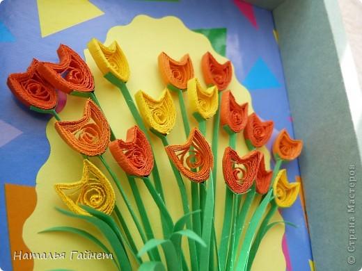 Во вторник отмечается День воспитателя.Для садиков моих дочек мы приготовили вот такие подарки в виде открыток-коробочек с букетиками цветов. фото 12