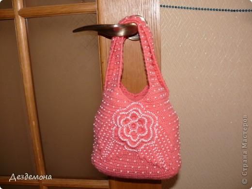 Вот такая сумка получилась у меня по мастер-классу Голубки http://stranamasterov.ru/node/78633?c=favorite_451 фото 5