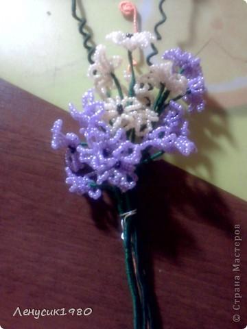вот такие цветочки я сделала вчера фото 2