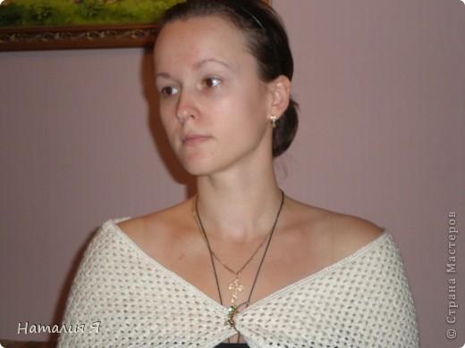 В летние вечера можно использовать как шаль))  фото 1