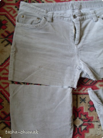 Ну конечно же , я снова порола штаны!!! Ну не смогла я с ними растаться, душой прикипела!!! фото 2