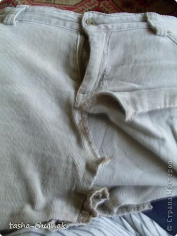 Ну конечно же , я снова порола штаны!!! Ну не смогла я с ними растаться, душой прикипела!!! фото 3
