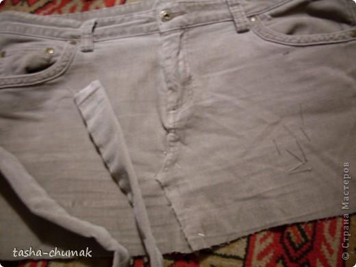 Ну конечно же , я снова порола штаны!!! Ну не смогла я с ними растаться, душой прикипела!!! фото 4