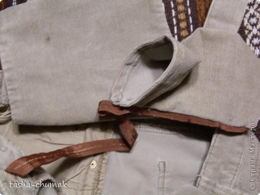 Ну конечно же , я снова порола штаны!!! Ну не смогла я с ними растаться, душой прикипела!!! фото 7
