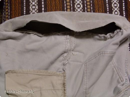 Ну конечно же , я снова порола штаны!!! Ну не смогла я с ними растаться, душой прикипела!!! фото 8