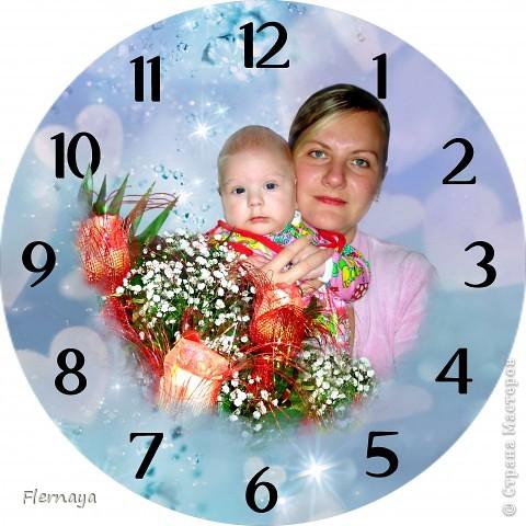 Часы с фото фото 2