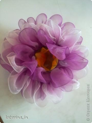 Всем привет и здравствуйте.Хотела бы похвастать своими цветочками. Это первый в списке и последний сделанный мной))) фото 3