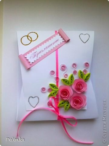 Представляю вам серию пригласительных=) Делала их на свою свадьбу... фото 13