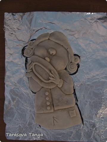 По мотивам Е.Гапчинской (очень люблю ее творчество, вдохновилась от мастеров которые тоже делали подобное) Картина-панно 56/32, на кухню уж очень хотелось. Дополнительные материалы: фанера, черная краска с баллончика, рамочка. фото 3