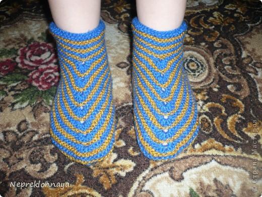 Носочки для любимого сыночка фото 1
