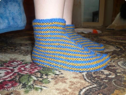 Носочки для любимого сыночка фото 2