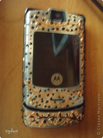 вот такие телефон и чехольчик для него я сделала фото 7
