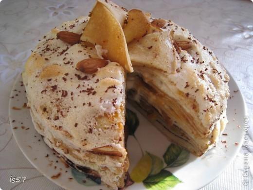 Блинный тортик фото 2