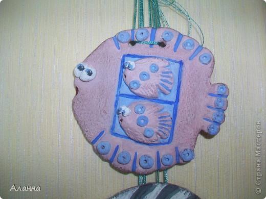 Оригинал рыбки здесь http://stranamasterov.ru/node/150574?c=favorite. Ну а у меня получилась вот такая рыбешка. фото 1