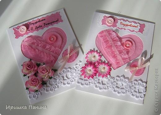 Вот такие розовые сердца получилась! фото 1