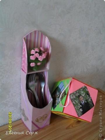 подарочек на розовую свадьбу семье старшего сына  мини альбом вся семья в сборе фото 4