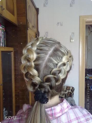 повседневные косички))) фото 1