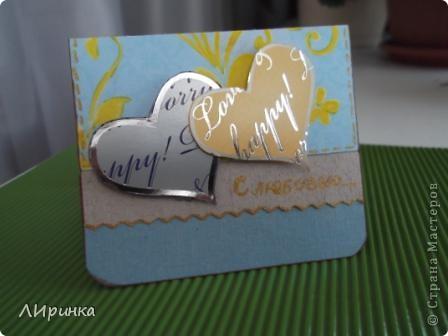 Получила первый заказ - конверт для денег. Сделала два на выбор. Выбрали этот. Делала его по МК - http://anitas-hobbyblogg.blogspot.com/2009/05/2-konfirmasjonskort-og-tutorial.html. фото 8
