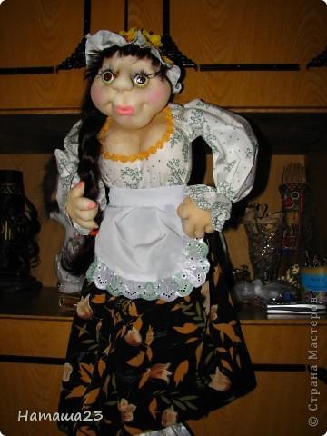 Марфа, куклы пакетница, спасибо всем за идею и МК фото 1