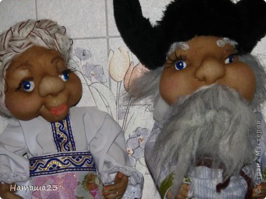 Домовой и его жена Домовиха фото 5