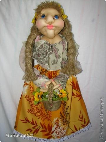 Кукла пакетница Агата фото 2