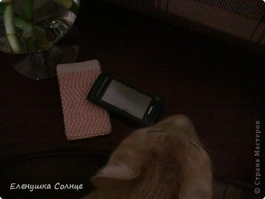 Это первый чехольчик для телефона. фото 3