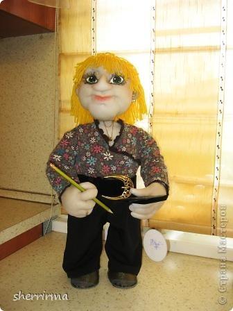 Вот ещё кукла бухгалтер по заказу ..  фото 1