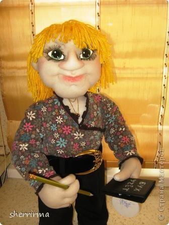 Вот ещё кукла бухгалтер по заказу ..  фото 2