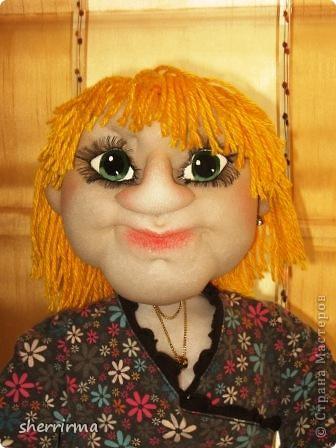 Вот ещё кукла бухгалтер по заказу ..  фото 3