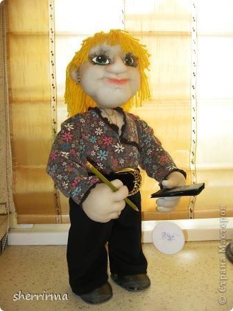 Вот ещё кукла бухгалтер по заказу ..  фото 4