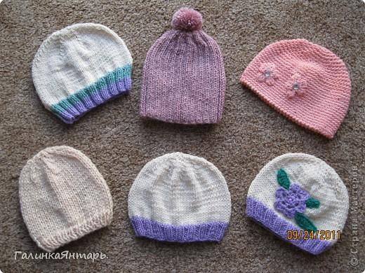 Мои шапочки