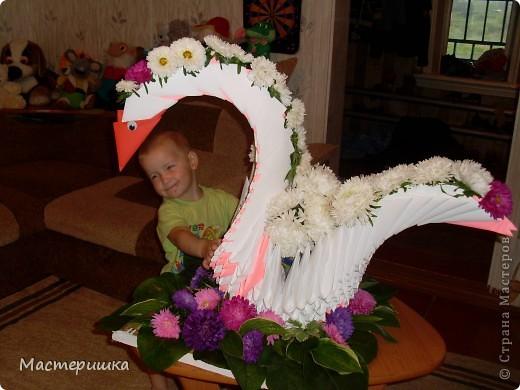 В первые дни сентября нашей семье посчастливилось поучаствовать в городской выставке цветов. А самое главное, было интересно наблюдать за нашим младшим сыном (мы представляли его садик).  фото 3