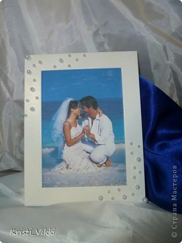 Наша первая свадебная фоторамка!