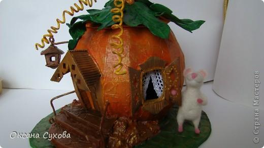 "Осень на дворе...У меня на ""огороде"" созрела вот такая тыква!!!! фото 3"