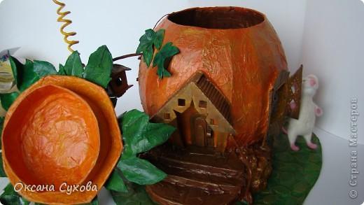 "Осень на дворе...У меня на ""огороде"" созрела вот такая тыква!!!! фото 10"