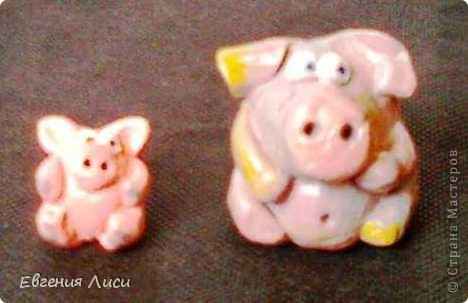 """Свинарник.... Уже """"консервы"""". Очень давно сделала, еще  фото с телефона. Значит весной. Не показывала, другое что-то увлекло... фото 2"""